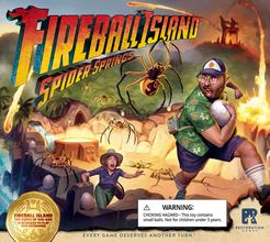 Fireball Island: The Curse of Vul-Kar – Spider Springs