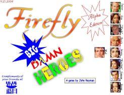 Firefly Big Damn Heroes
