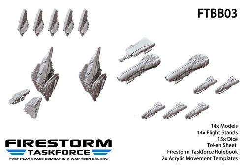 Firestorm Taskforce Starter Set: Sorylian Collective vs. The Relthoza