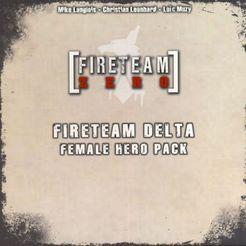 Fireteam Zero: Fireteam Delta Female Hero Pack