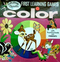 First Learning Games: Color