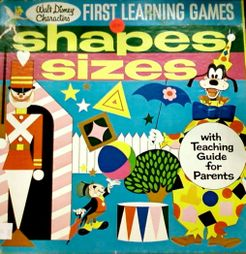 First Learning Games: Shapes and Sizes
