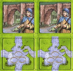 Fisherman: Angler & Fish Farm (fan expansion to Carcassonne)