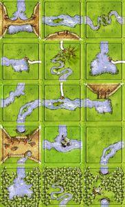 Fisherman: Swan Lake (fan expansion for Carcassonne)