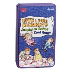 Five Little Monkeys Jumping on the Bed Card Game