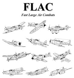 FLAC: Fast Large Air Combats