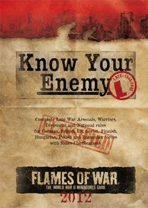 Flames of War: Know Your Enemy – Late War