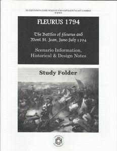Fleurus 1794: The Battles of Fleurus and Mont St. Jean, June-July 1794