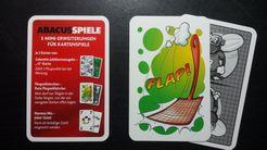 Fliegen Klatschen: Rote Fliegenklatsche promo cards