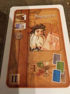 Florenza: The Card Game – Ingegnere Promo Card