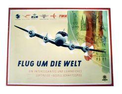 Flug um die Welt