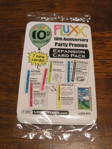 Fluxx: 10th Anniversary Party Promos – Expansion Card Pack