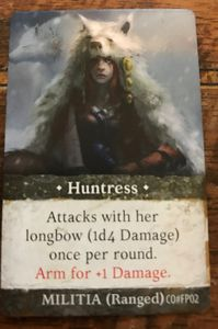 Folklore: The Affliction – Huntress Promo Card