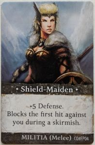 Folklore: The Affliction – Shield-Maiden Promo Card