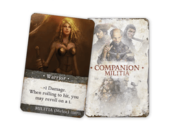 Folklore: The Affliction – Warrior Promo Card