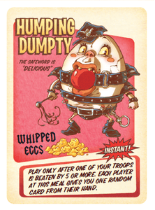 Food Fight Promo Cards