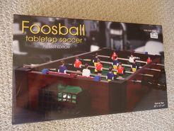 Foosball tabletop soccer