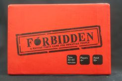 Forbidden: A Mature Party Game for Immature People
