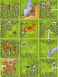 Forests: Fairy Tales (fan expansion to Carcassonne)