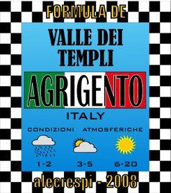 Formula Dé: ITALY SERIES – Agrigento Valle dei Templi