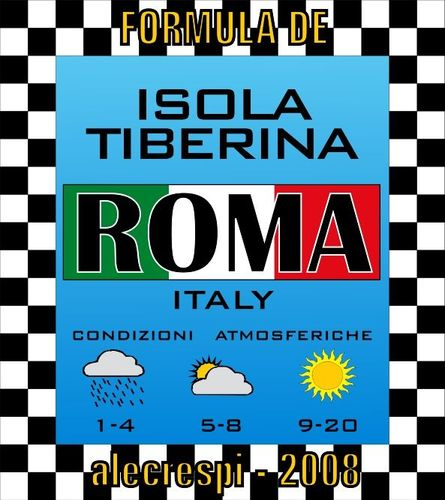 Formula Dé: ITALY SERIES – Roma Isola Tiberina