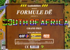 Formule Dé Circuit ? 12: SOUTH of AFRICA GRAND PRIX – Kyalami Circuit