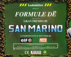 Formule Dé Circuit ? 13: SAN MARINO – Autodromo Enzo & Dino Ferrari