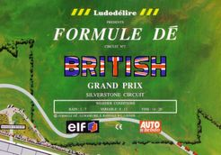 Formule Dé Circuit ? 7: BRITISH GRAND PRIX – Silverstone Circuit