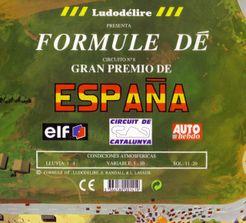 Formule Dé Circuit ? 8: GRAN PREMIO DE ESPAÑA – Circuit de Catalunya