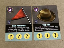 Fossilis: 2020 Dice Tower Promo Cards