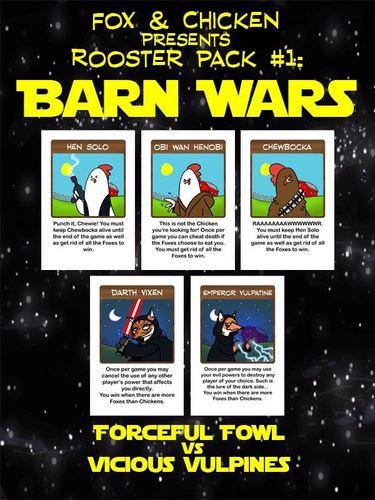 Fox & Chicken Rooster Pack #1: Barn Wars