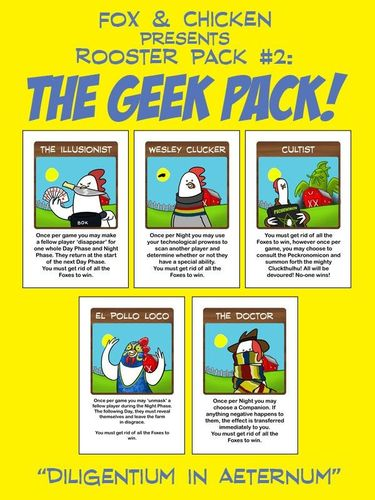Fox & Chicken Rooster Pack #2: The Geek Pack