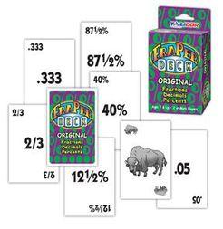 Fraperdeck Fraction/Decimal/Percent