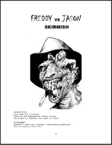Freddy vs. Jason Skirmish