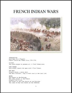 French Indian Wars