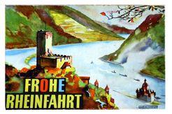 Frohe Rheinfahrt