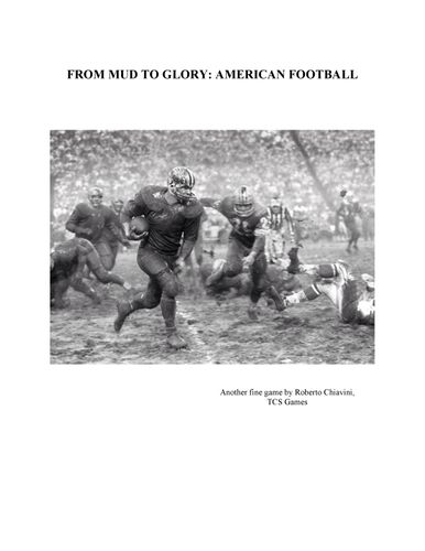From Mud to Glory: American Football