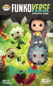 Funkoverse Strategy Game: Rick and Morty 2-Pack