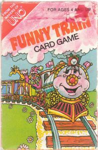 Funny Train Card Game