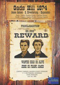 Gads Hill 1874: 2. Expansion – Jesse James