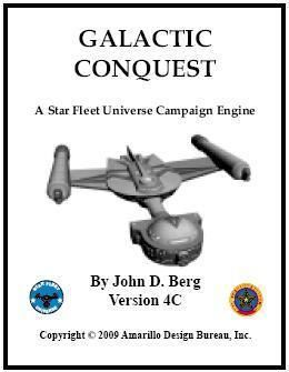 Galactic Conquest: A Star Fleet Universe Campaign Engine