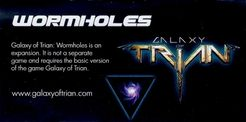 Galaxy of Trian: Wormholes