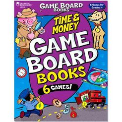 Game Board Book: Time and Money