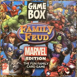 Game Box: Family Feud – Marvel Edition