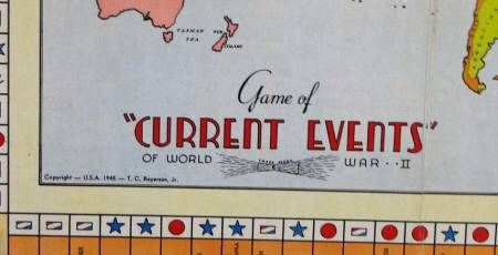 Game of Current Events of World War II Board Game | BoardGames com