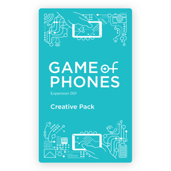 Game of Phones: Expansion 001 – Creative Pack