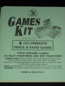 Games Kit: 4 Cooperative Pencil & Paper Games