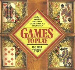 Games To Play: Board and table games for all the family