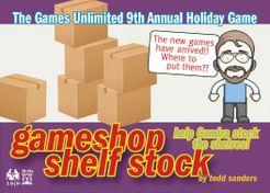 Gameshop Shelf Stock