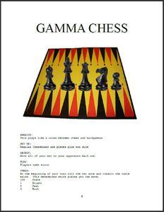 Gamma Chess